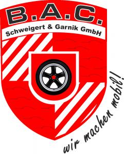 Logo vom B.A.C GmbH