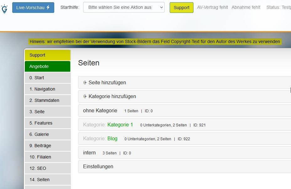 Import von k2-Artikeln aus Joomla zum cmsgenial blog in 1 Minute