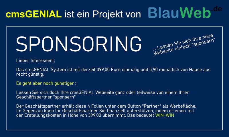 Bild 2 - Partner: BlauWeb.DE Internet Solutions