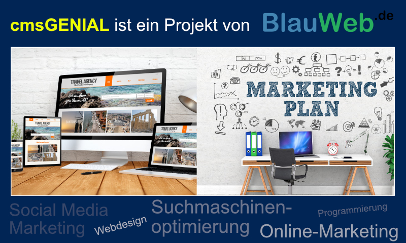 Bild 1 - Partner: BlauWeb.DE Internet Solutions